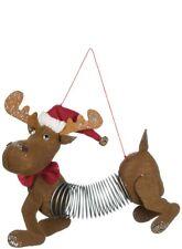 "SLINKY MOOSE Christmas Ornament, 7"" Long, by Sullivans"