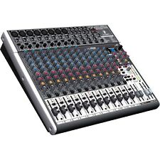 Behringer XENYX X2222USB - 22-Input USB Audio Mixer with Effects Brand New
