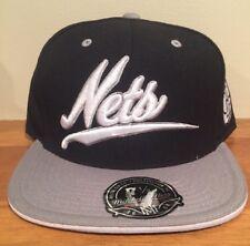 Brooklyn Nets Mitchell & Ness Billboard Scripture cap hat Fitted 7 1/2