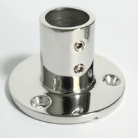 "Boat Hand Rail/Stanchion Base for 1""/25mm Tube 90 Degree 316 Stainless Steel"