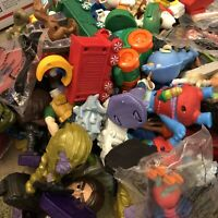 Lot Of 70+ VTG Happy Meal Disney Toys McDonalds Burger King Loose Characters