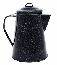 Camping Coffee Pot Boiler 3 Quart Camp Fire Outdoor Hiking Steel Core NEW
