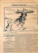 Dog Chien Epouvantail Feldgrauen Pickelhaube Dessin de Benjamin Rabier WWI 1916