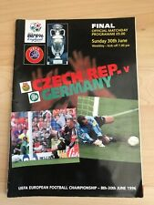 Euro 96-Czech Republic v Germany-30th June 1996-Cup Final