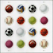 US SOCCER MLB NFL NBA GOLF #5203-5210 HAVE A BALL MINT VF 16 FOREVER STAMP SHEET