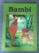vintage BAMBI Paperback Childrens Book - Favourite Fairy Tales - 1995