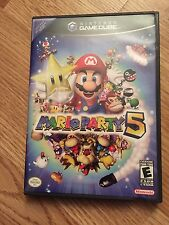 Mario Party 5 MarioParty GameCube Game Cube With Manual Nice BA2