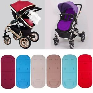 Baby Washable Trolley Stroller Pram Pushchair Soft Seat Liner Pad Cushion Mat