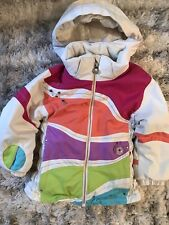 Obermeyer Girl's Snow Ski Jacket I-Grow Size 4 Insulated