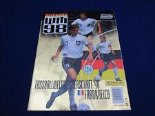 Panini WM 1998 stickers 98 Nationalmannschaft Deutschland, Leeralbum/empty album