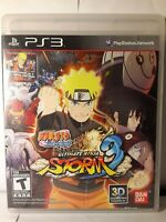Naruto Shippuden: Ultimate Ninja Storm 3 Complete Game (PlayStation 3, 2013) CIB