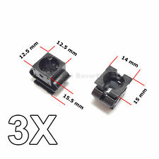 3X Engine Undertray Cover Clips, Lower Guard Panel Retainer, for Audi, VW, Seat