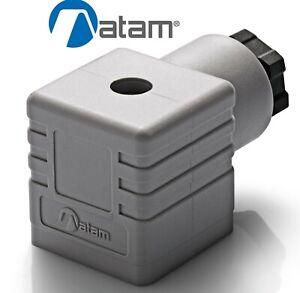 SOLENOID VALVE CONNECTOR PLUG DIN 43650 / EN175301-803 ATAM KA132000A1
