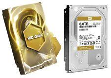 WD Gold 6TB Datacenter Hard Drive 7200 RPM SATA 6 Gb/s 128MB Cache WD6002FRYZ