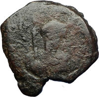 CRUSADERS of Antioch Tancred Ancient 1101AD Byzantine Time Coin CROSS i69680