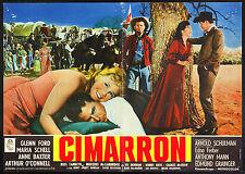 CINEMA-fotobusta CIMARRON g. ford, a. baxter, A. MANN