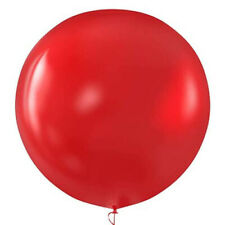 Bubble Red Colour Party Decoration 36 inch Huge Latex Balloons 6pcs