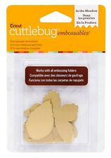Cricut Cuttlebug IN THE MEADOW - GOLD Embossables Metal Shapes