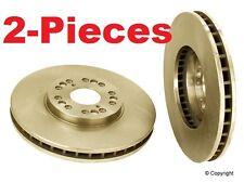 2-Pieces  Front Disc Brake Rotors for Lexus