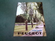 PEUGEOT 404 SALOON BROCHURE September 1968 1969 Model FRENCH