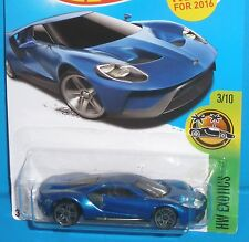 2016 HOT WHEELS '17 Ford GT HW Exotics Col. #73/250 2017 NEW