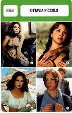 FICHE CINEMA :  OTTAVIA PICCOLO -  Italie (Biographie/Filmographie)