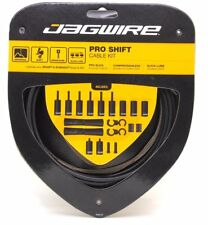 Jagwire Road Pro Slick Polished Shift Cable Kit For Sram/Shimano Stealth Black