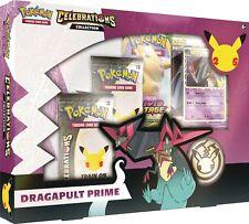 More details for pokemon celebrations - dragapult prime box (new and sealed)