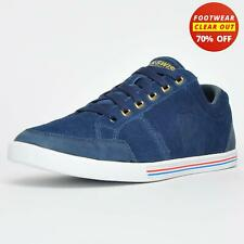 K Swiss Match Court Classic Suede Leather Vintage Retro Trainers Blue