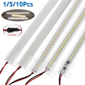30/40cm LED Rigid Light Strip Floodlight Tube Bar 220V for Counter Window Shelf