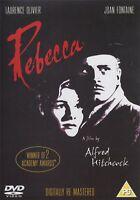 Rebecca Remasterizado Digitalmente Alfred Hitchcock Laurence Olivier GB DVD Raro
