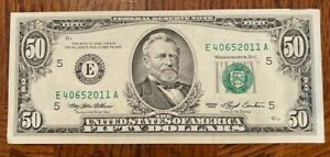 $50 - 1993 Federal Reserve Note - CRISP AS CAN BE