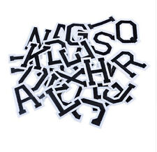 26pcs Letters Embroidered Sew Iron On Patches Badge Fabric Bag Clothes Applique