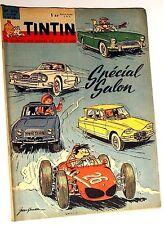 Tintin n° 676 TBE Spécial Auto Avec le Chèque tintin