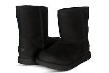UGG Australia Classic Short II Waterproof Kids Classic Boots Black 1019646K-BLK