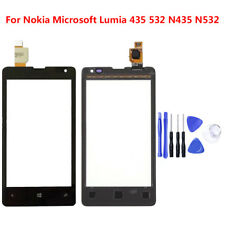 Front Touch Screen Digitizer Glass Lens Panel For Nokia Microsoft Lumia 435 532