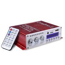HY-V10 FM MP3 Audio Speaker Car Bluetooth Amplifier HiFi Bass DSP Digital Player