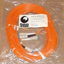 SCSC6D-7M Fiber Optic Cable 23ft SC-SC 62.5/125 Multimode Duplex BERK-TEK lot