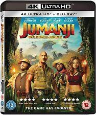 Jumanji - Welcome To The Jungle (4K Ultra HD + Blu-Ray)