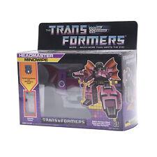 TransformersG1DecepticonHeadmasterMindwipeReissueActionFigureToyNew
