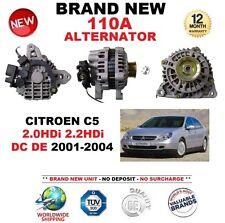 FOR CITROEN C5 2.0HDi 2.2HDi DC DE 2001-2004 110A ALTERNATOR BRAND NEW BOXED