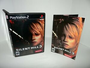 Silent Hill 3 Playstation 2  - Replacement manual, case and case insert