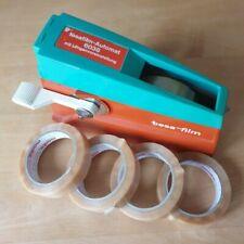 Tesa Film Automat 6038mit Längenvoreinstellung und 5 Kleberollen