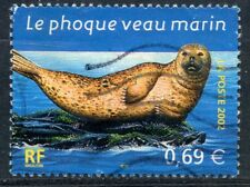 STAMP / TIMBRE FRANCE OBLITERE N° 3488 FAUNE / PHOQUE VEAU MARIN