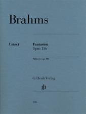 Henle Urtext Brahms Fantasies Op. 116 Solo Piano