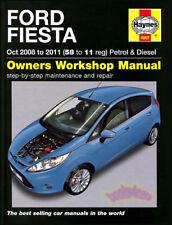 FIESTA SHOP MANUAL FORD SERVICE REPAIR BOOK HAYNES CHILTON 2009 2010 2011