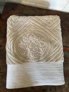 Ralph Lauren Bath Towel Sculpted Marrakesh Color Linen