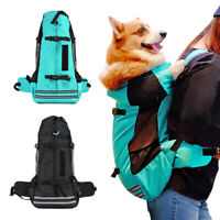 Dog Backpack Carrier for Medium Large Dogs Pet Travel Hiking Sack Carrying Bags
