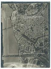 Photo vue aérienne de Beaucaire et Tarascon Bouches du Rhône  Gard 1948 cadastre