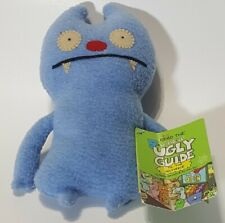 "Gato Deluxe Ugly Doll Plush Stuffed Uglydoll 8 7 6"" with tag small size classic"